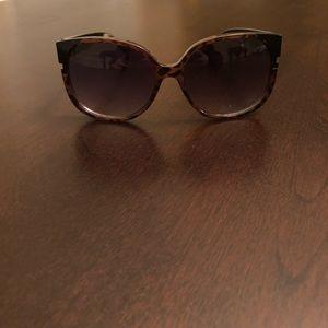 Brown and black fashion sunglasses